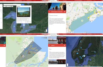Térkép alapú együttműködés a középfokú földrajzoktatásban