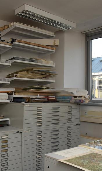 Az Intézeti Könyv- és Térképtár